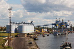 Grain terminal Stock Images