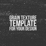 Grain Texture Template for Your Design Stock Images