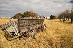 Grain Wagon 1. Grain wagon in a farmers field Royalty Free Stock Image