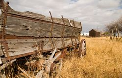 Grain Wagon 2 Stock Image