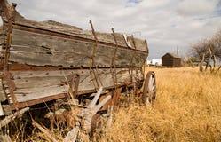 Grain Wagon 2. Grain wagon in a farmers field Stock Image