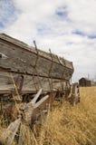 Grain Wagon 3. Grain wagon in a farmers field Royalty Free Stock Image