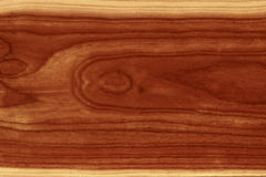 Grain wooden texture. Texture of timber with dark brown paint in center - modern and exotic Royalty Free Stock Images