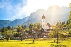 Grainau, Zugspitze Stock Photo