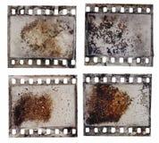 Grained текстура прокладки фильма Стоковые Фотографии RF