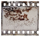 Grained film strip texture Royalty Free Stock Photography