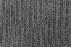 Grained texture fabric of black color Stock Images