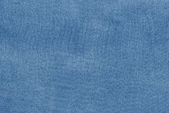 Grained texture fabric of pale blue color Royalty Free Stock Images