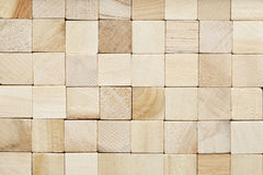 Grained wooden block background Royalty Free Stock Photography