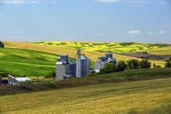 Grainery auf Weise zu Pullman, WA Lizenzfreie Stockfotografie