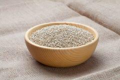 Graines blanches de quinoa Images libres de droits