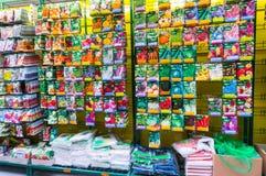 Graines d'usine dans le magasin image stock