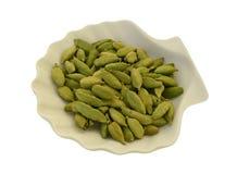 Graines de cardamome Photographie stock