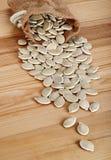 Graines de citrouille Photographie stock