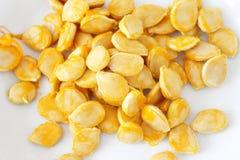 Graines de citrouille fraîches Photographie stock