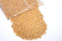 Graines de coupe de lupins pour l'usage en engrais d'agriculture pour des agrumes Images libres de droits