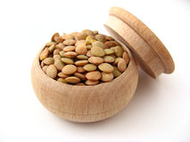 Graines de lentille Image stock