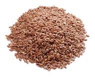 Graines de lin Images stock