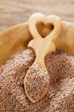 Graines de livèche, graines d'Ajwain, graines de carambolage Image stock