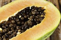 Graines de papaye Photo stock