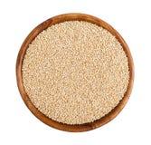 Graines de quinoa Photographie stock libre de droits