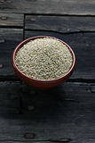 Graines de quinoa Photo stock