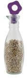 Graines de tournesol dans une bouteille Photos stock