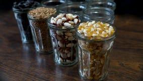 Graines en verres transparents 4 Photographie stock libre de droits