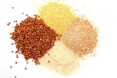 Graines et textures Images stock