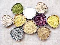 Grains-3 stockfoto