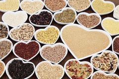 Grains and Cereals Stock Photography