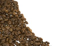 Grains of coffee Stock Photography