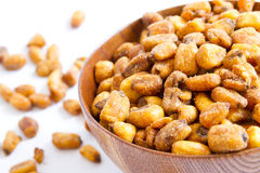grains corn fried  Stock Image