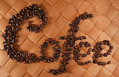 Grains de café 03 Photos libres de droits