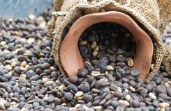 Grains de café. Photographie stock libre de droits