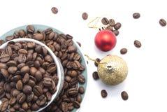 Grains de café Photo stock