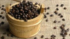 Grains de café banque de vidéos