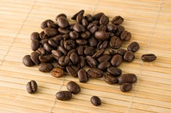 Grains de café. Image stock