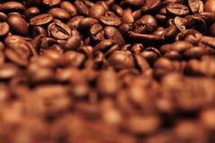 Grains de café brouillés Images stock