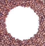 Grains de café de Brown, plan rapproché des grains de café Photos stock