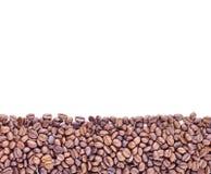 Grains de café de Brown, plan rapproché des grains de café Photo libre de droits