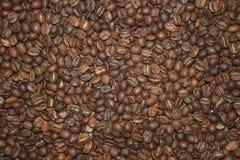 Grains de café foncés Photos libres de droits