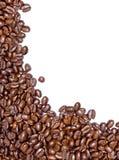 Grains de café frais Photographie stock libre de droits