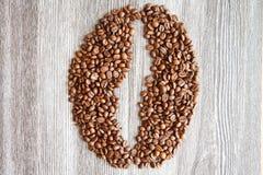 Grains de café II Photo libre de droits