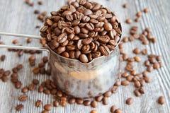Grains de café III Photos stock