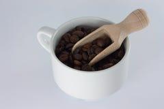 Grains de café parfumés Images libres de droits