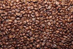Grains de café rôtis Image stock