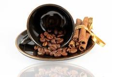 Grains de café (séries) Photos stock