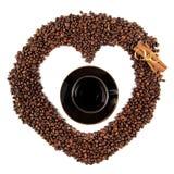 Grains de café (séries) Image libre de droits