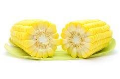 Grains de maïs mûr Photos libres de droits